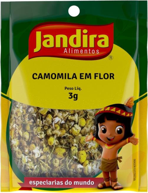 Camomila Flor